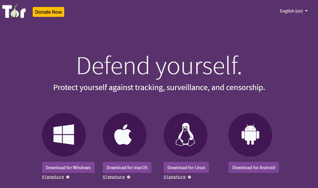 Tor browser multiplatform download webpage