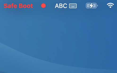 Boot in the Safe Mode
