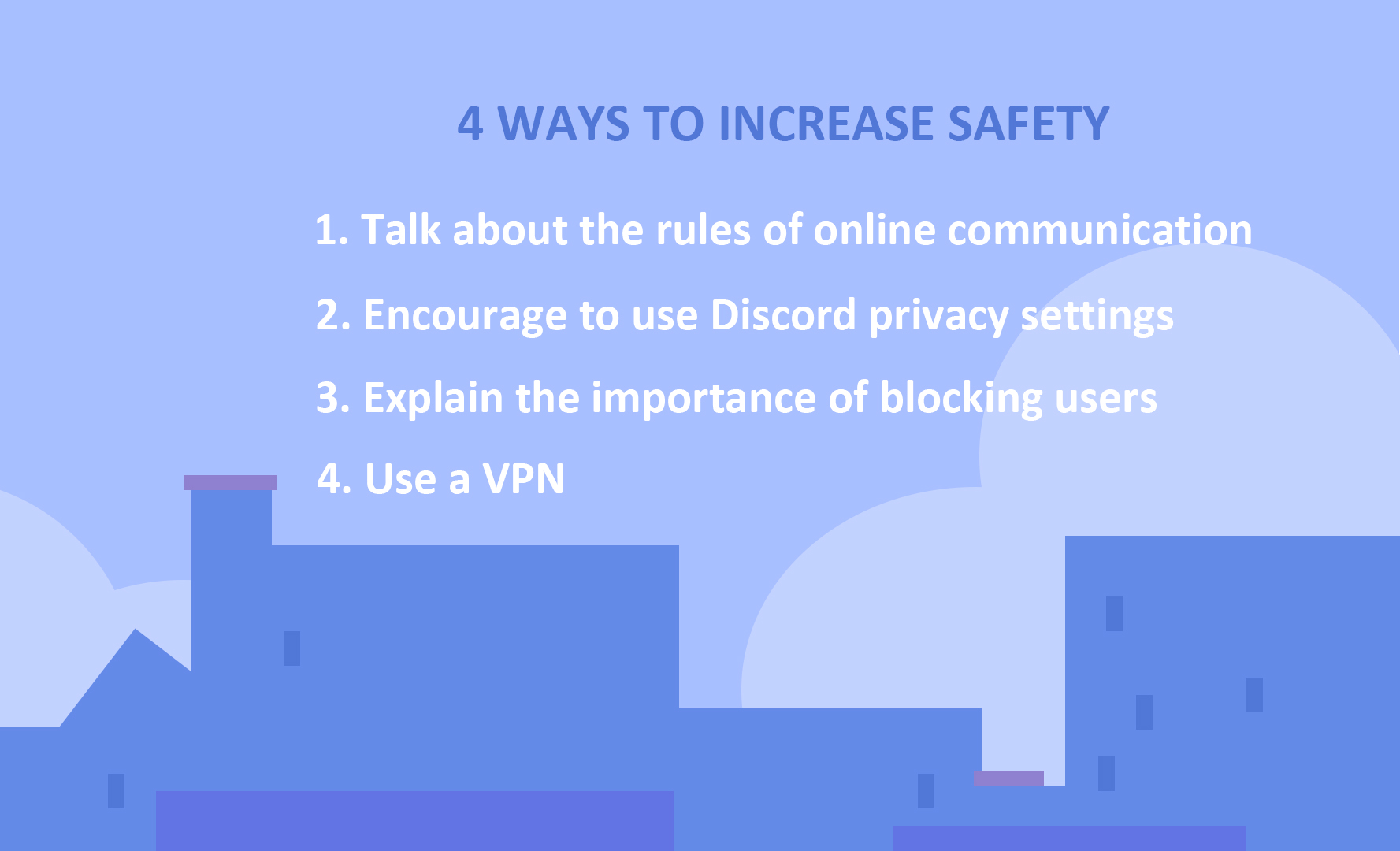 ways to increase safety in discord