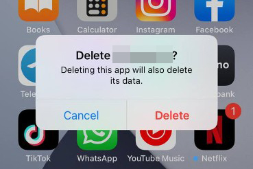 Tap Delete