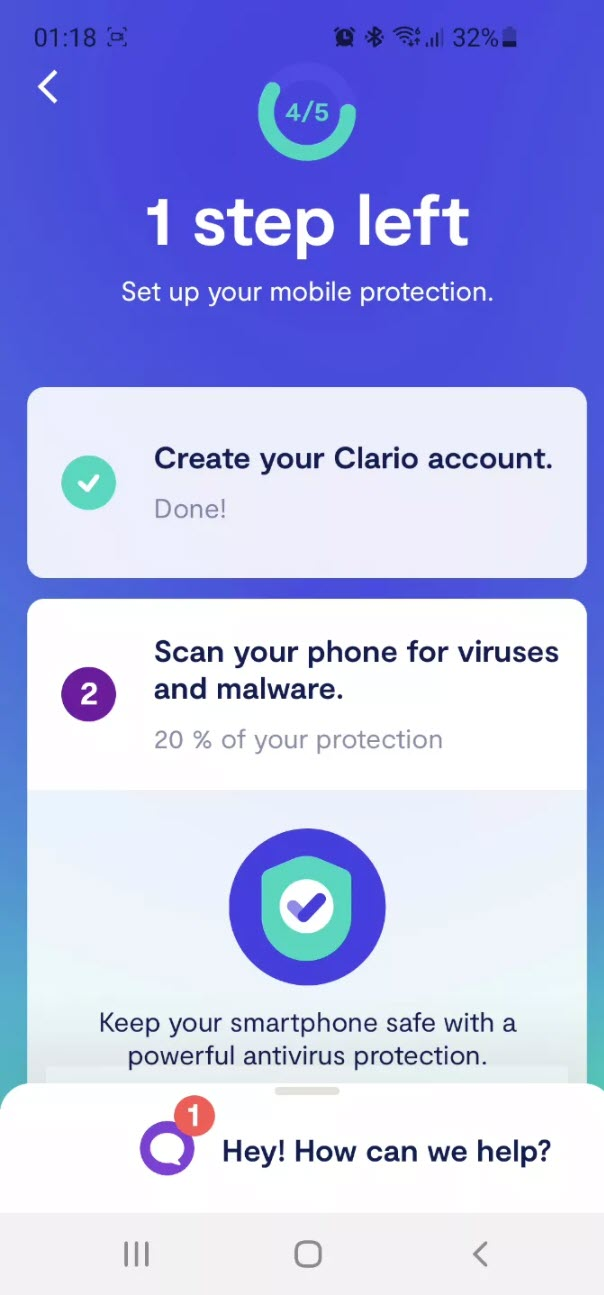 Install Clario for Android