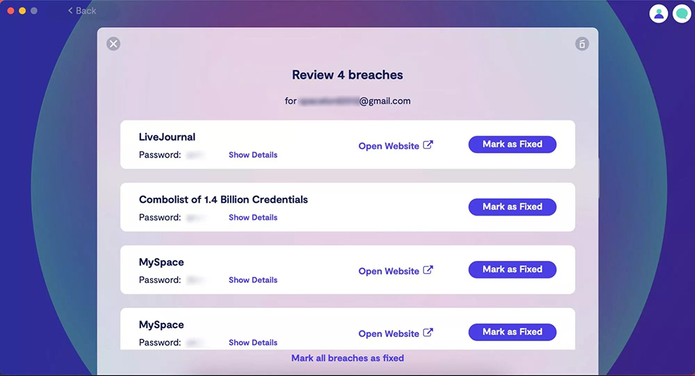 clario email breach detection