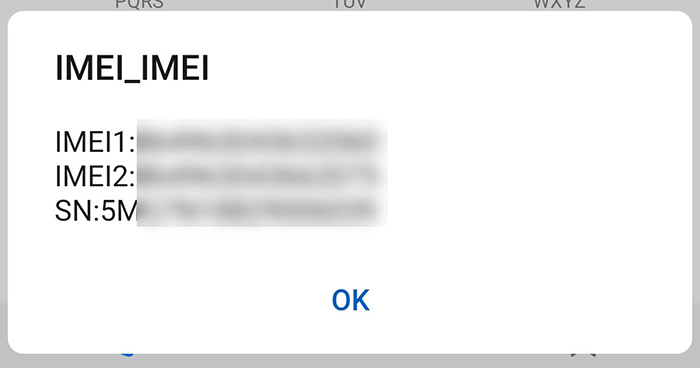 IMEI shortcode is the first code to check to file a police report when the phone is hacked