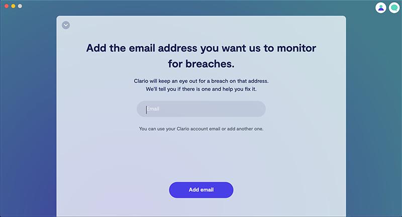 Clario data breach settings