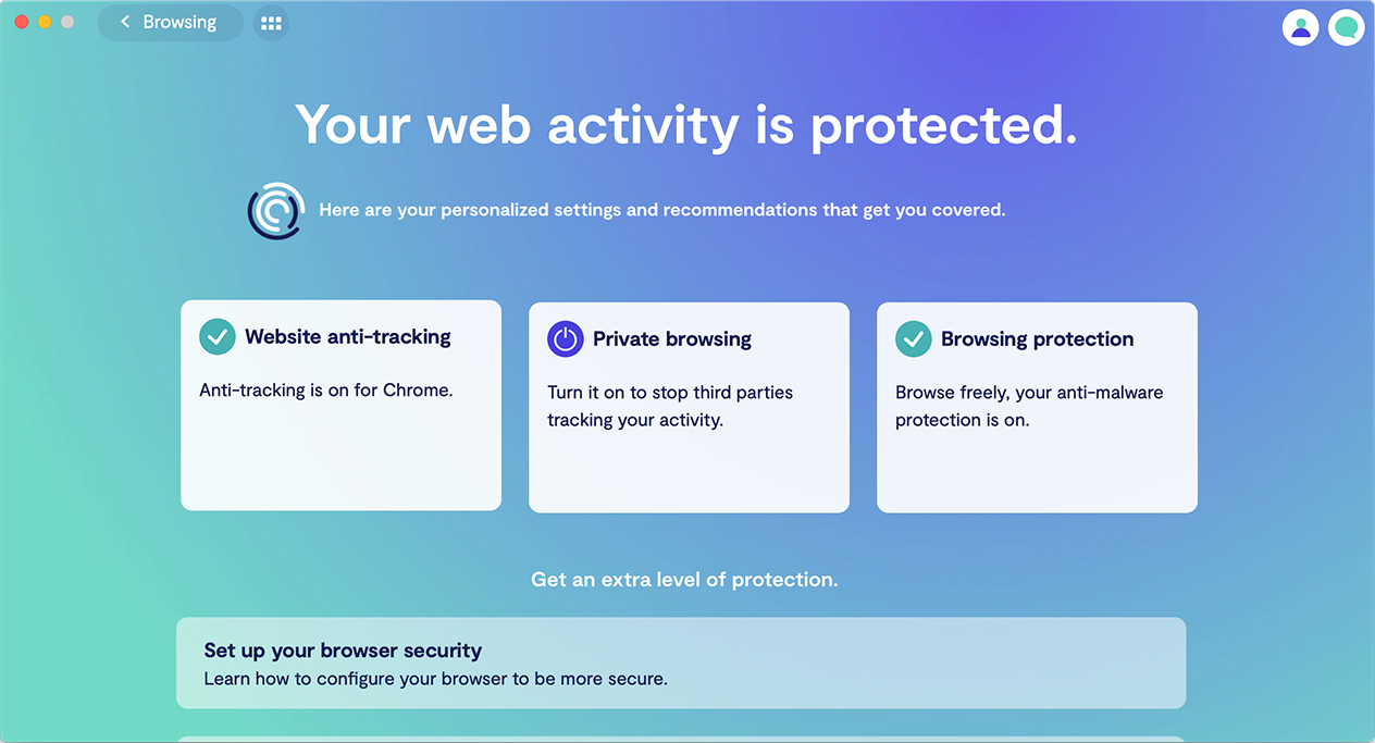 Clario protects you from spam, phishing, and fraud