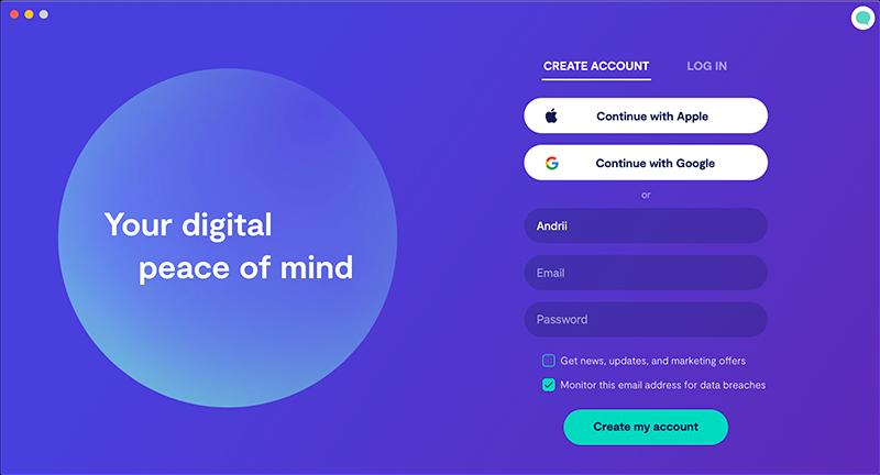 Create a Clario account
