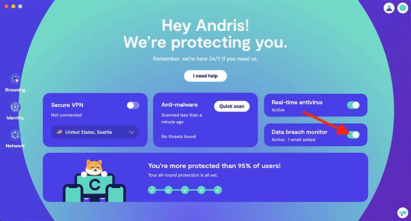 Clario data breach monitor