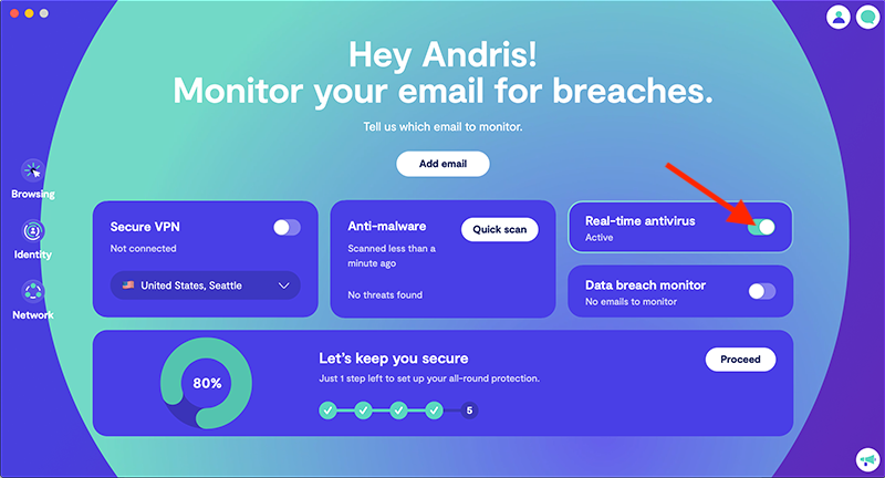 Give your Mac a real-time antivirus protection